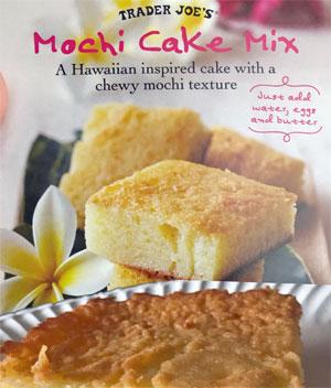 Trader Joe's Mochi Cake Mix