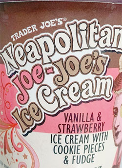 Trader Joe's Neapolitan Joe-Joe's Ice Cream Reviews