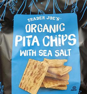 Trader Joe's Organic Pita Chips with Sea Salt