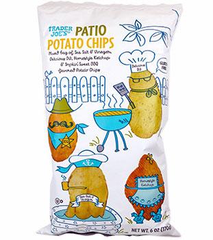 Trader Joe's Patio Potato Chips Reviews
