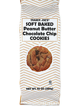 Trader Joe's Soft Baked Peanut Butter Chocolate Chip Cookies