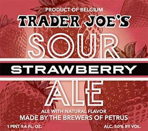 Trader Joe's Strawberry Sour Ale