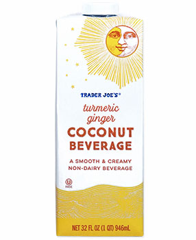 Trader Joe's Turmeric Ginger Coconut Beverage