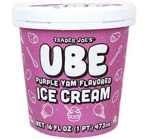 Trader Joe's Ube Purple Yam Flavored Ice Cream Reviews