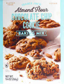 Trader Joe's Almond Flour Chocolate Chip Cookie Baking Mix Reviews