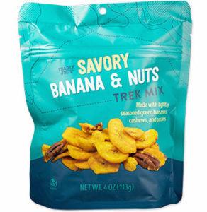 Trader Joe's Savory Banana & Nuts Trek Mix