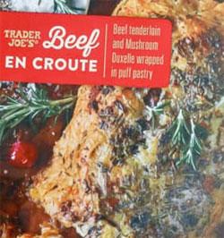 Trader Joe's Beef en Croute