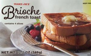Trader Joe's Brioche French Toast