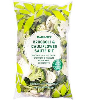 Trader Joe's Broccoli & Cauliflower Saute Kit