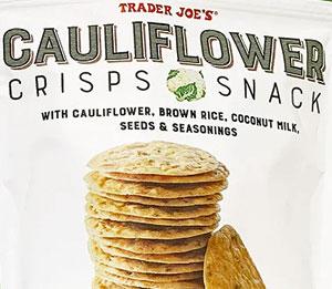 Trader Joe's Cauliflower Crisps