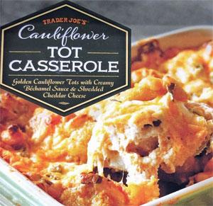 Trader Joe's Cauliflower Tot Casserole