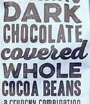 Trader Joe's Organic Dark Chocolate Covered Whole Cocoa Beans