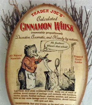 Trader Joe's Cinnamon Whisk Broom
