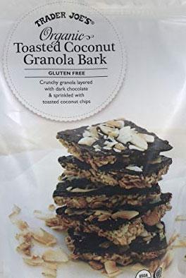 Trader Joe's Organic Toasted Coconut Granola Bark