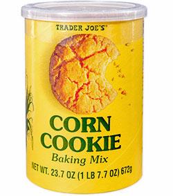 Trader Joe's Corn Cookie Mix