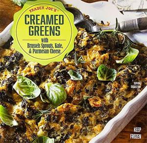Trader Joe's Creamed Greens