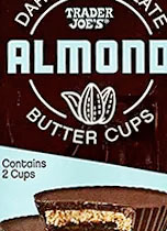 Trader Joe's Dark Chocolate Almond Butter Cups Reviews