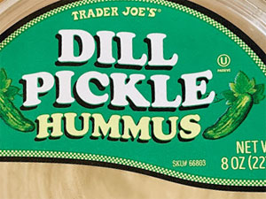 Trader Joe's Dill Pickle Hummus