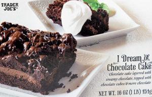 Trader Joe's I Dream of Chocolate Cake