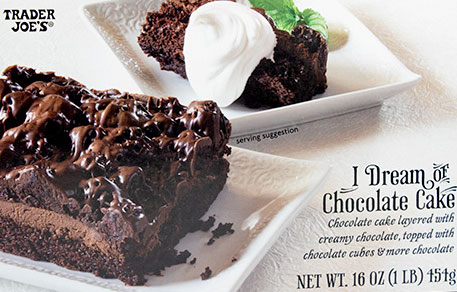 Trader Joe's I Dream of Chocolate Cake Reviews