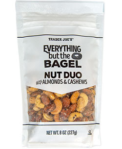 Trader Joe's Everything but the Bagel Nut Duo