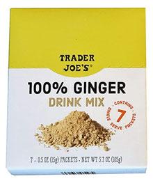Trader Joe's 100% Ginger Drink Mix