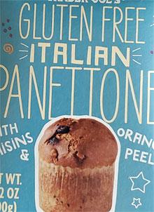 Trader Joe's Gluten Free Italian Panettone