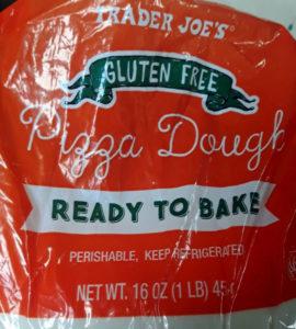 Trader Joe's Gluten Free Pizza Dough