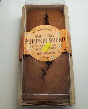 Trader Joe's Gluten-Free Pumpkin Bread Reviews