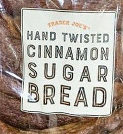 Trader Joe's Hand Twisted Cinnamon Sugar Bread