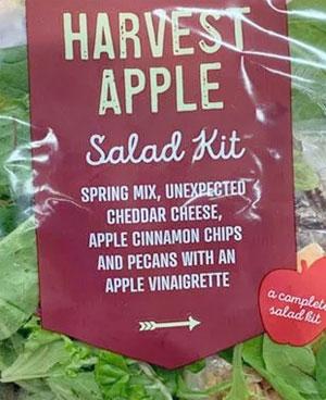 Trader Joe's Harvest Apple Salad Kit