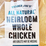 Trader Joe's All Natural Heirloom Whole Chicken