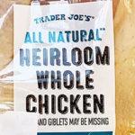 Trader Joe's All Natural Heirloom Whole Chicken