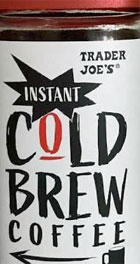 Trader Joe's Instant Cold Brew Coffee Reviews
