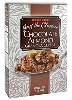 Trader Joe's Just the Clusters Chocolate Almond Granola Cereal Reviews