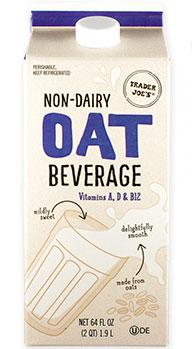 Trader Joe's Non-Dairy Oat Milk Beverage