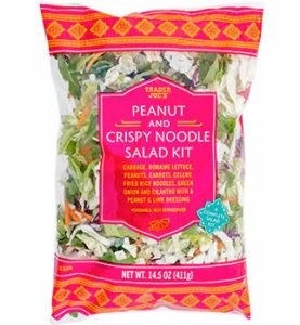 Trader Joe's Peanut and Crispy Noodle Salad Kit