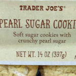 Trader Joe's Pearl Sugar Cookies