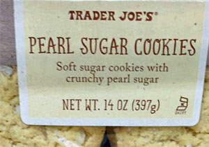 Trader Joe's Pearl Sugar Cookies