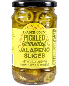 Trader Joe's Pickled Fermented Jalapeño Slices