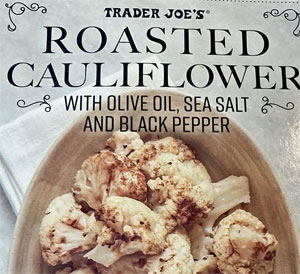Trader Joe's Roasted Cauliflower