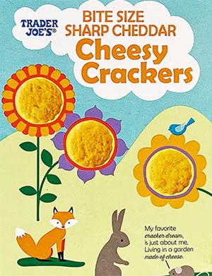 Trader Joe's Bite Size Sharp Cheddar Cheesy Crackers Reviews