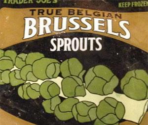 Trader Joe's True Belgian Brussels Sprouts