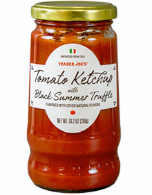 Trader Joe's Tomato Ketchup with Black Summer Truffle