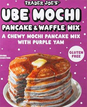 Trader Joe's Ube Mochi Pancake & Waffle Mix