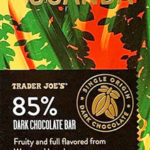 Trader Joe's 85% Dark Chocolate from Uganda