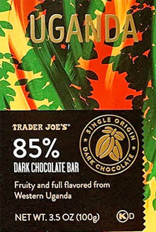 Trader Joe's 85% Dark Chocolate from Uganda Reviews