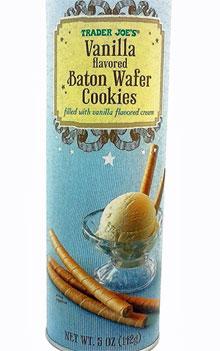 Trader Joe's Vanilla Flavored Baton Wafer Cookies