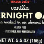 Trader Joe's Vanilla Overnight Oats