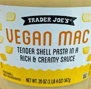 Trader Joe's Vegan Mac